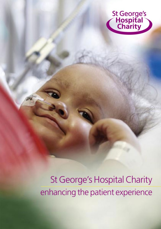 St George's Hospital Charity General Fundraising Leaflet