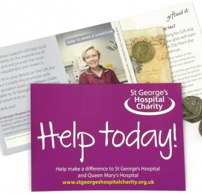 Donation Envelope - St George's Hospital Charity