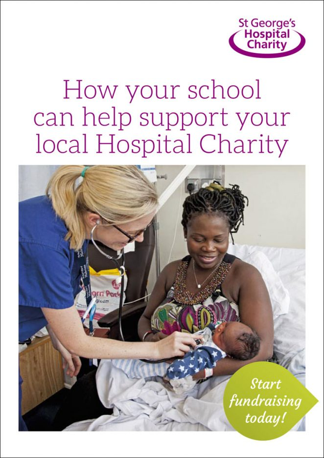 St George's Hospital Charity Schools Fundraising Leaflet