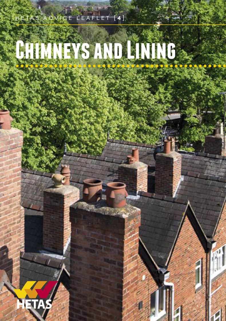 HETAS Chimney and Lining Advice Leaflets