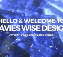Davies-Wise Design web site home page
