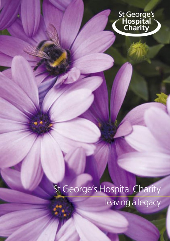 St George's Hospital Charity Legacy Leaflet
