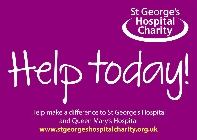 Donation Envelope front – St George's Hospital Charity